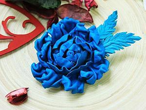 Работа с натуральной кожей. Цветы из кожи | Ярмарка Мастеров - ручная работа, handmade