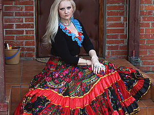 Купить цыганскую юбку дешево