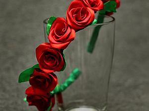 Венок из роз своими руками. Ярмарка Мастеров - ручная работа, handmade.