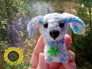 Собачка крючком | Ярмарка Мастеров - ручная работа, handmade