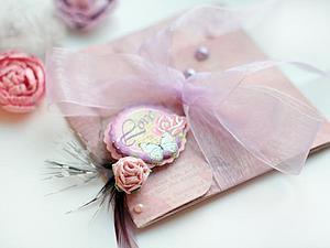 Создаем конверт с признанием в любви. Ярмарка Мастеров - ручная работа, handmade.