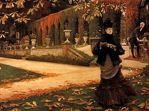 James Tissot и его женщина в черном. Ярмарка Мастеров - ручная работа, handmade.