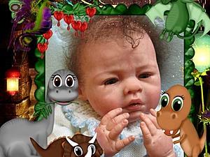 Малыш Елисейка-2 Кукла реборн Инны Богдановой | Ярмарка Мастеров - ручная работа, handmade