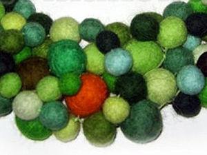 Много войлочных шариков за 1 час  (Видеоурок) | Ярмарка Мастеров - ручная работа, handmade
