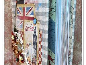 Блокнот в тканевой обложке   Ярмарка Мастеров - ручная работа, handmade