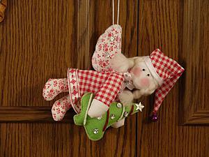 Мастер-класс по пошиву Ангела Рождества. Ярмарка Мастеров - ручная работа, handmade.