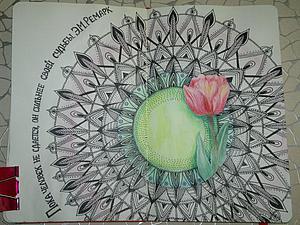 Рисуем в технике Zentangle & Doodling. Ярмарка Мастеров - ручная работа, handmade.