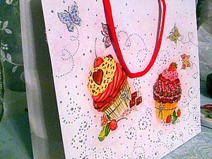 Делаем подарочный пакетик из обычного. Ярмарка Мастеров - ручная работа, handmade.