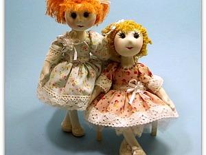 Все текстильные остатки — в дело! Шьем текстильную каркасную куклу. Ярмарка Мастеров - ручная работа, handmade.