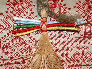 кукла десятиручка-помощница из лыка. Ярмарка Мастеров - ручная работа, handmade.