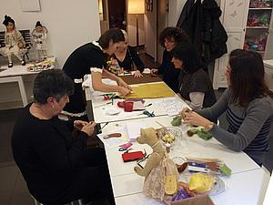 Зимние МК по созданию мишек в Барселоне | Ярмарка Мастеров - ручная работа, handmade