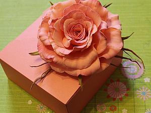 Как сделать коробочку в стиле оригами. Ярмарка Мастеров - ручная работа, handmade.