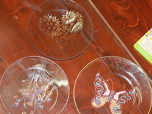Мой МК по росписи тарелок в технике Point-to-Point | Ярмарка Мастеров - ручная работа, handmade