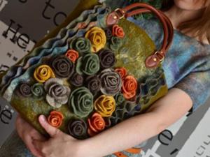 МК по цветочной сумке | Ярмарка Мастеров - ручная работа, handmade