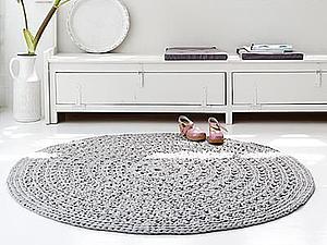 Вязаные акценты стильного интерьера. Часть третья: ковры | Ярмарка Мастеров - ручная работа, handmade