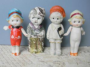Винтажные куколки | Ярмарка Мастеров - ручная работа, handmade