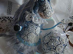 Прилетели новые лошадки-снежинки! | Ярмарка Мастеров - ручная работа, handmade