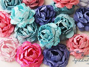 Цветы из бумаги. Ярмарка Мастеров - ручная работа, handmade.