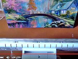 Как очень быстро высушить картины, написанные маслом. Ярмарка Мастеров - ручная работа, handmade.