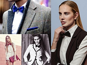 Мода для гурманов: галстук-бабочка. | Ярмарка Мастеров - ручная работа, handmade