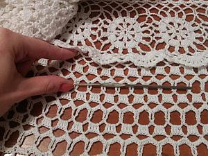 Как укоротить вязанное крючком платье. Ярмарка Мастеров - ручная работа, handmade.