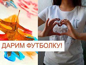 При покупке пальто - футболка в подарок! | Ярмарка Мастеров - ручная работа, handmade