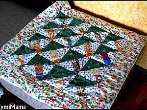 Шьем лоскутное одеяло | Ярмарка Мастеров - ручная работа, handmade