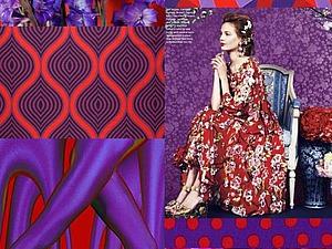 Модные платья 2016: тренды, цвета и принты | Ярмарка Мастеров - ручная работа, handmade