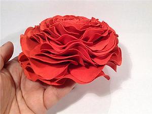 Создаем ранункулюс из фоамирана. Ярмарка Мастеров - ручная работа, handmade.