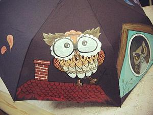 Роспись зонтов и эко сумок. | Ярмарка Мастеров - ручная работа, handmade