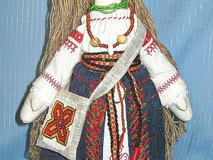 Шьем русский костюм для куклы. Часть 1. Ярмарка Мастеров - ручная работа, handmade.