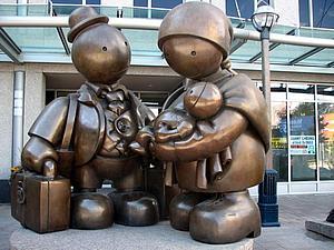 Уличные скульптуры Тома Otterness   Ярмарка Мастеров - ручная работа, handmade