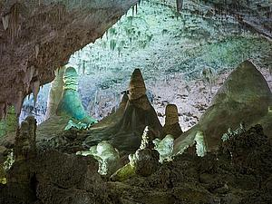 Обед на глубине 225 м: буфет в Большом зале Карлсбадских пещер (США) | Ярмарка Мастеров - ручная работа, handmade