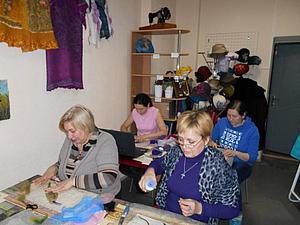 Рукодельниц Перми приглашаю на курс мокрого валяния для начинающих. Ярмарка Мастеров - ручная работа, handmade.