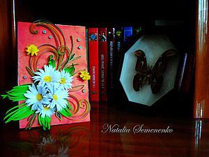 Изготовление весенней открытки в стиле квиллинг. Ярмарка Мастеров - ручная работа, handmade.