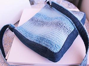 Новая Голубая Сумочка! | Ярмарка Мастеров - ручная работа, handmade