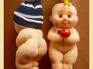 Пупс малышок из лоскутка. | Ярмарка Мастеров - ручная работа, handmade
