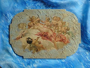 Панно-фреска