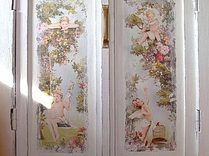 Мастер-класс: декор двери в технике декупаж. Ярмарка Мастеров - ручная работа, handmade.
