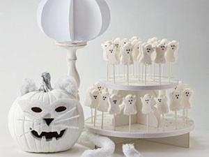 Хэллоуин в белом | Ярмарка Мастеров - ручная работа, handmade