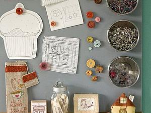 Настенный органайзер (или идеи самодельных досок для записей и мелочей в Вашем домашнем офисе) | Ярмарка Мастеров - ручная работа, handmade