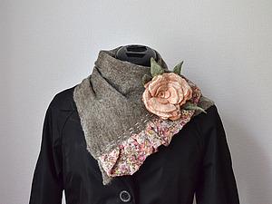 Аукцион на шарфик   Ярмарка Мастеров - ручная работа, handmade