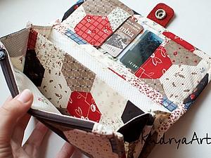 Текстильный кошелек своими руками. Ярмарка Мастеров - ручная работа, handmade.