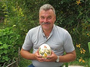 Приключения  страусиного яйца   Ярмарка Мастеров - ручная работа, handmade