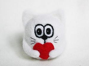 Валяем сердечных звериков от осенней хандры:) | Ярмарка Мастеров - ручная работа, handmade