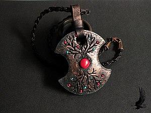 Лепим кулон из полимерной глины   Ярмарка Мастеров - ручная работа, handmade
