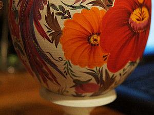 МК по петриковской росписи предметов интерьера  29 октября. | Ярмарка Мастеров - ручная работа, handmade