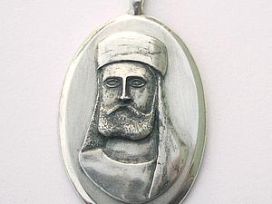 Изготовление подвески из серебра с изображением человеческого лица. Ярмарка Мастеров - ручная работа, handmade.