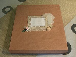 Коробка своими руками | Ярмарка Мастеров - ручная работа, handmade