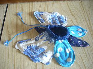 Шьем мешочек-омияге «Бабочка». Ярмарка Мастеров - ручная работа, handmade.